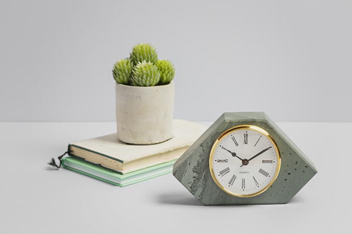 Chunky Case Clock - Slate Clocks - Coniston Stonecrafts