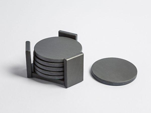 Coaster Holder with Circular Coasters - Coniston Stonecrafts