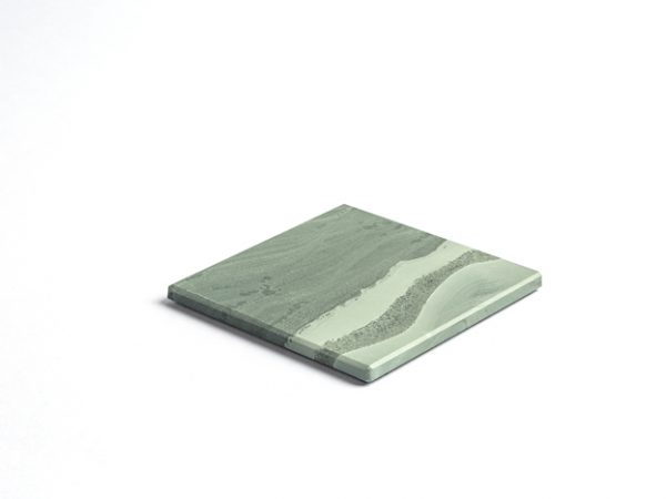 Lakeland Square Coaster - Slate Coaster - Coniston Stonecrafts