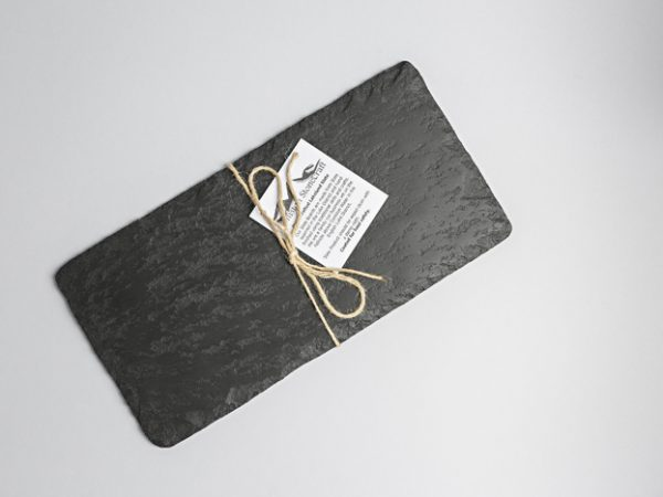 Lakeland Slate Cheeseboard (Oblong) - Coniston Stonecrafts