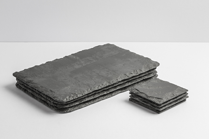 Lakeland Slate Placemats & Coasters (Set of 4) - Coniston Stonecrafts