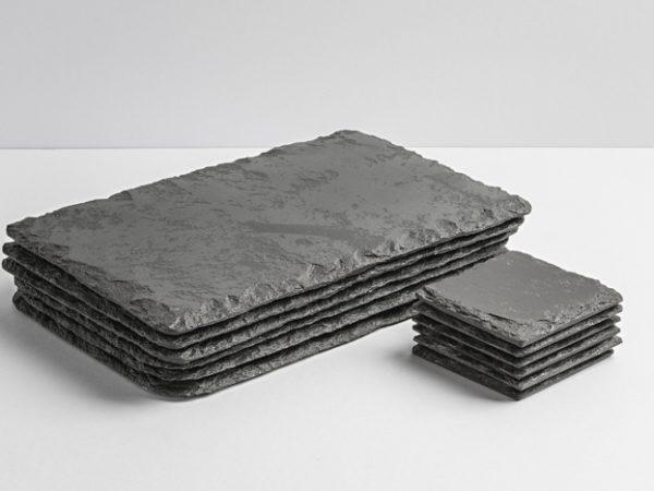 Lakeland Slate Placemats & Coasters - Coniston Stonecrafts