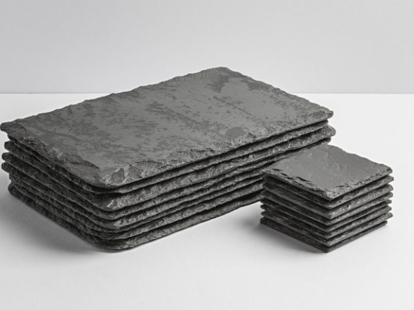 Lakeland Slate Placemats & Coasters (Set of 8) - Coniston Stonecrafts