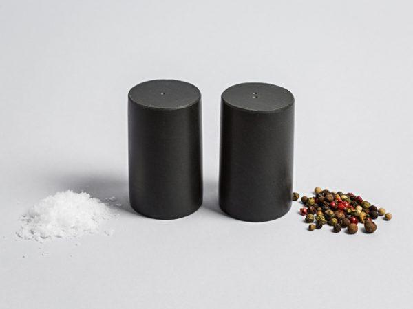 Slate Round Salt & Pepper Set - Coniston Stonecrafts