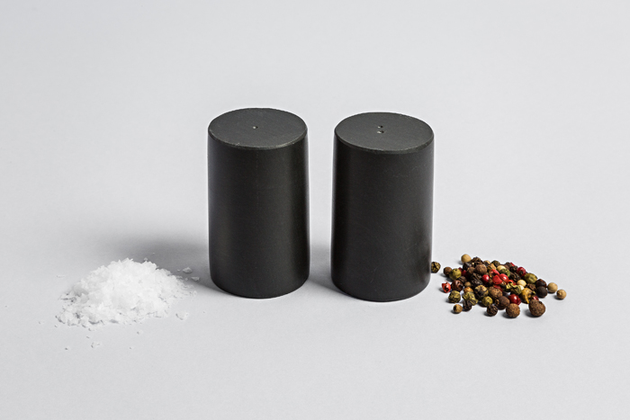 Slate Round Salt & Pepper Set - Coniston Stonecrafts
