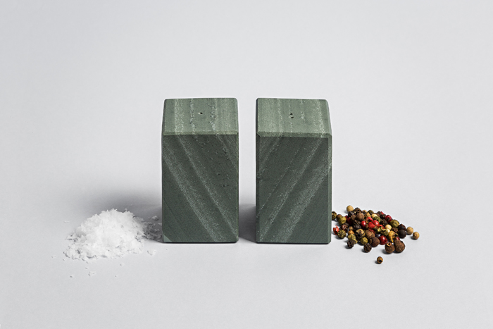Slate Square Salt & Pepper Set - Coniston Stonecrafts