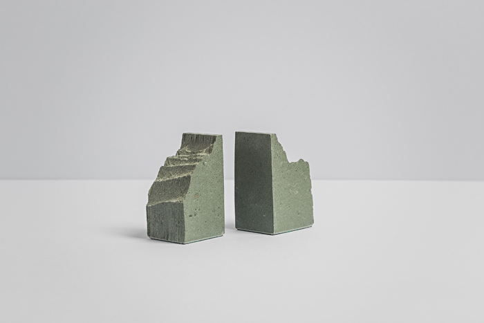 Small Rustic Bookends - Slate Bookends - Coniston Stonecrafts