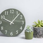Large Slate Kitchen Clock - Slate Clocks - Coniston Stonecrafts