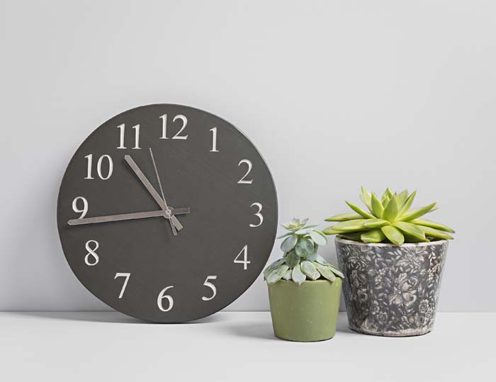 Large Slate Kitchen Clock - Slate Clocks - Coniston Stonecrafts