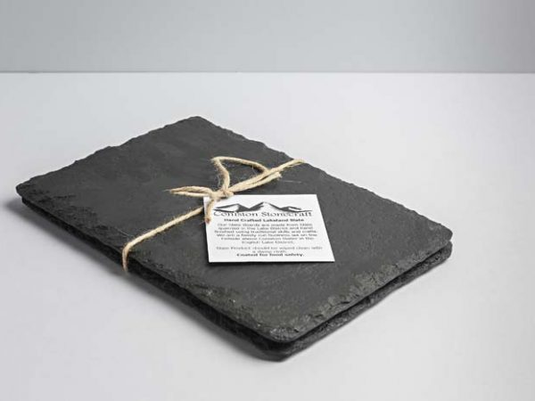 Two Lakeland Slate Cheeseboards (Small Oblong) - Coniston Stonecrafts