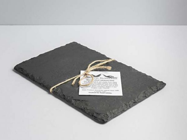 Lakeland Slate Cheeseboard (Small Oblong) - Coniston Stonecrafts