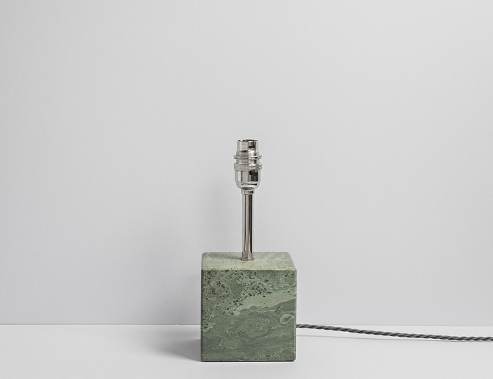 Square Polished Lamp - Slate Lamps - Coniston Stonecrafts