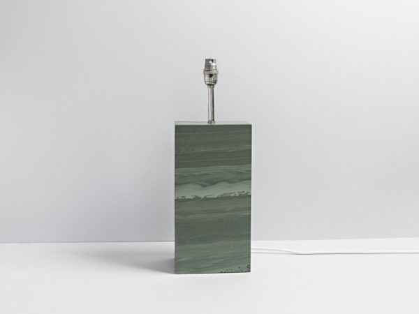 Standard Polished Slate Lamp - Coniston Stonecrafts