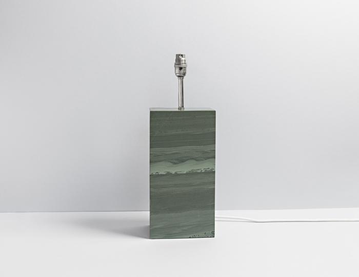 Standard Polished Slate Lamp - Coniston Stonecrafts