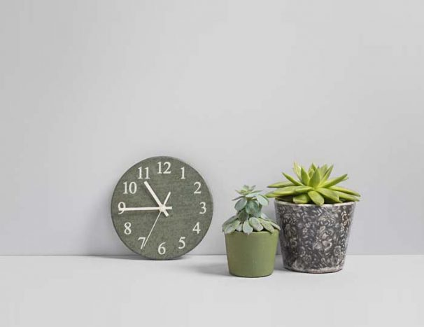 Small Kitchen Clock - Slate Kitchen Clocks - Coniston Stonecrafts