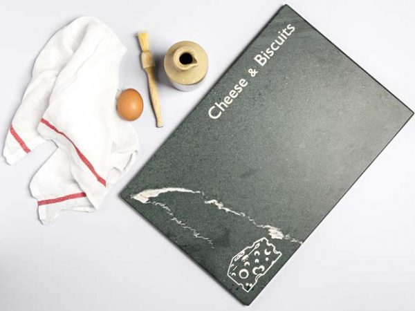 Pastry Board - with Custom Name or Phrase - Coniston Stonecrafts