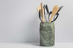Slate Utensil Holder, Contemporary Slate Homeware and Kitchen Accessories - Coniston Stonecrafts