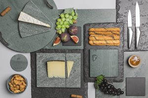 Coniston Stonecraft slate products, made in the English Lake District
